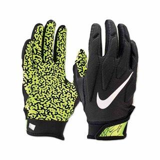 Nike Superbad 5.0 American Football Jugend Handschuhe - schwarz/volt Gr. YM
