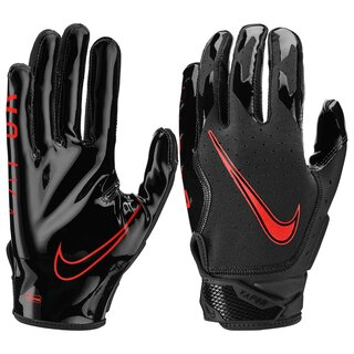 Nike Vapor Jet 6.0 Black Edition American Football Skill Handschuhe - schwarz/rot Gr.M