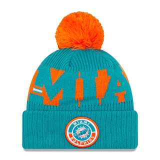 NFL Bobble Cuff Knit Team Miami Dolphins
