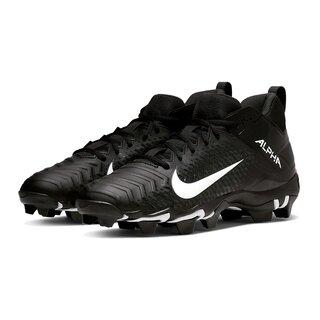 Nike Alpha Menace 2 Shark American Jugend-Footballschuhe - schwarz Gr. 2.5Y US