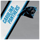 NFL Carolina Panthers Paper Napkins 20 Pack