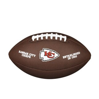 Wilson NFL Composite Team Logo Football Kansas City Chiefs