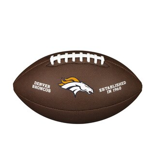 Wilson NFL Composite Team Logo Football Denver Broncos