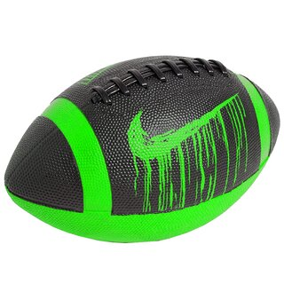 Nike Official Size Spin 4.0 American Football - black/neon green