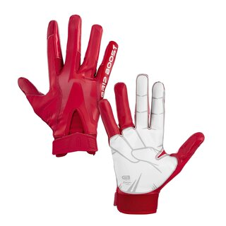 Grip Boost Stealth 4.0 Peace American Football Receiver Handschuhe - rot Gr. L