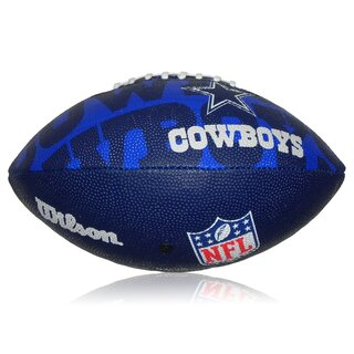 Wilson NFL Junior Dallas Cowboys Logo Football