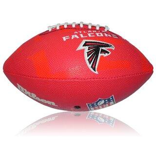 competitive price 62b91 951af Wilson NFL Junior Atlanta Falcons Logo Football