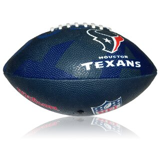 Wilson NFL Junior Houston Texans Logo Football