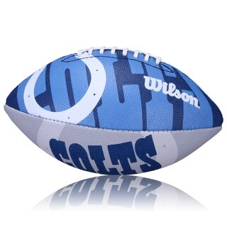 Wilson NFL Junior Indianapolis Colts Logo Football