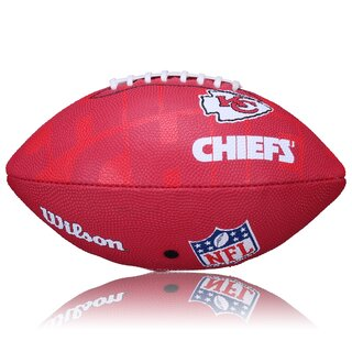 Wilson NFL Junior Kansas City Chiefs Logo Football