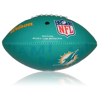 Wilson NFL Junior Miami Dolphins Logo Football