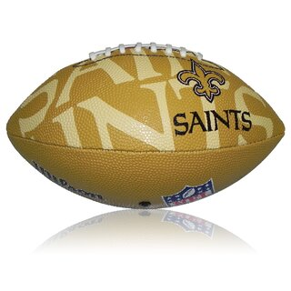 Wilson NFL Junior New Orleans Saints Logo Football