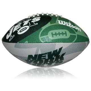 Wilson NFL Junior New York Jets Logo Football