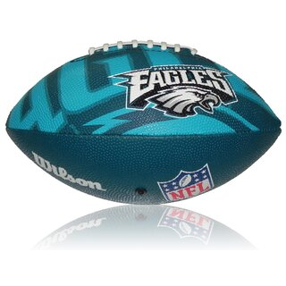 Wilson NFL Junior Philadelphia Eagles Logo Football