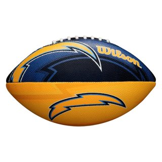 Wilson NFL Junior San Diego Chargers Logo Football