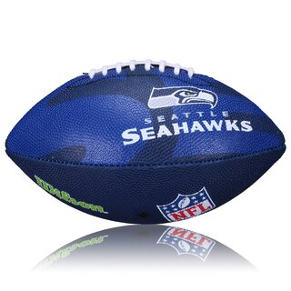 Wilson NFL Junior Seattle Seahawks Logo Football