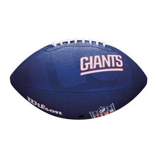 Wilson NFL Junior New York Giants Logo Football