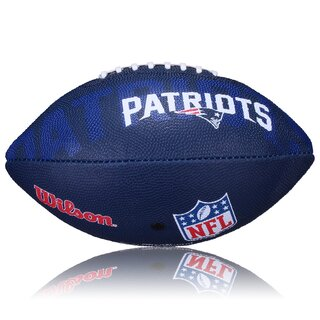 Wilson NFL Junior New England Patriots Logo Football