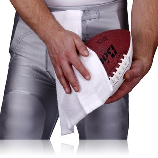 Full Force Handtuch Football Field Towel - weiß