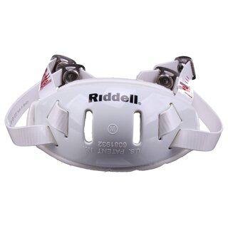 Riddell Hardcup, Chinstrap Mid/Hi - weiß