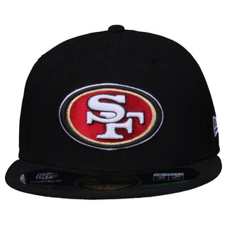 New Era NFL On Field San Francisco 49ers Game Cap 59 FIFTY, black
