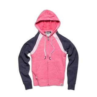 Supersofte Sweatjacke Kick Off - pink Gr. L