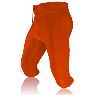 Full Force American Football Game pants Lycra Stretch - orange Gr. 5XL
