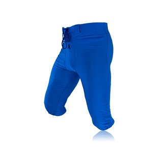 Full Force American Football Game pants Lycra Stretch - royal Gr. S