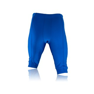 Full Force American Football Game pants Lycra Stretch - royal Gr. L