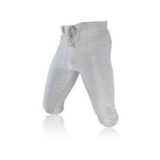 Full Force American Football Game pants Lycra Stretch - silbergrau Gr. S