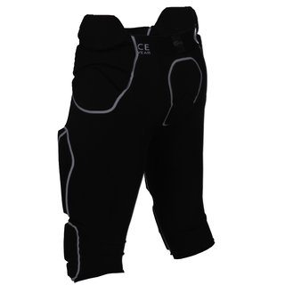 Full Force American Football Herren Hose 7 Pocket mit 7 eingenähten Pads