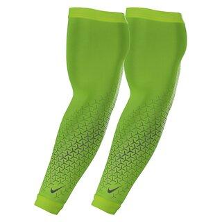 Nike Dri-Fit 360 Armstulpen - neon gelb Gr. L/XL