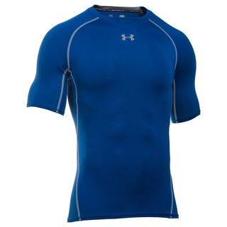 Under Armour Kompressions-Shirt Kurz - royal Gr. XL