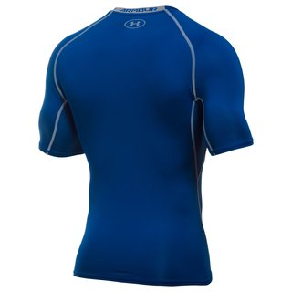 Under Armour Kompressions-Shirt Kurz - royal Gr. 2XL