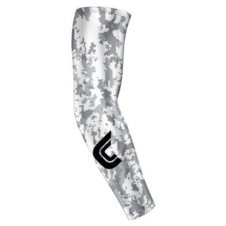 Cutters 772 Ultra Compression Arm Sleeve - camo/weiß Gr. S