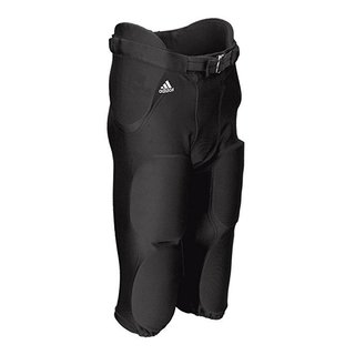 adidas Audible All-in-One Hose mit 7 integrierten Pads - schwarz Gr. M