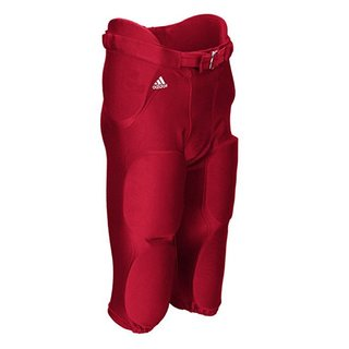 adidas Audible All-in-One Hose mit 7 integrierten Pads - rot Gr. M