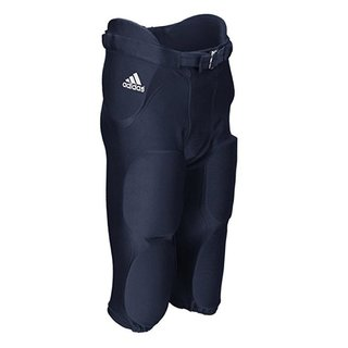 adidas Audible All-in-One Hose mit 7 integrierten Pads - navy Gr. XXL