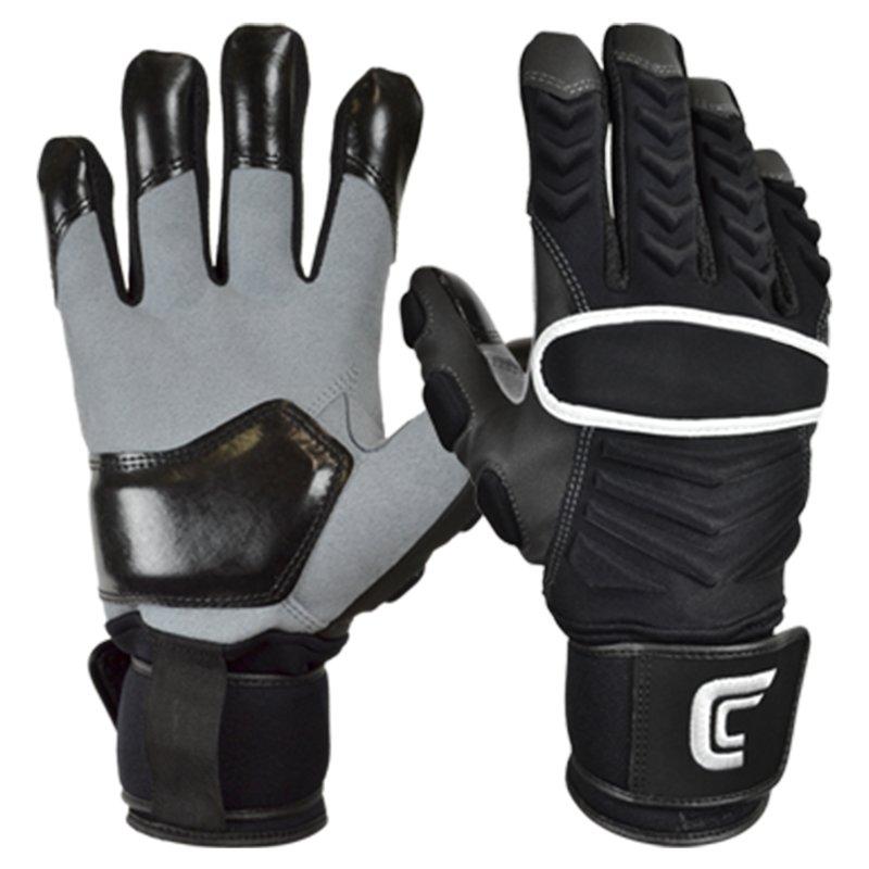 Cutters The Reinforcer American Football Lineman Handschuhe - schwarz Gr. L