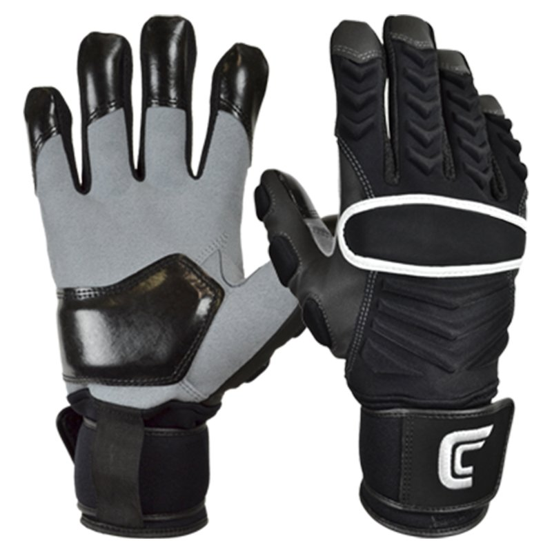 Cutters The Reinforcer American Football Lineman Handschuhe - schwarz Gr. 3XL