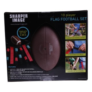 Kinder Starterset Flag Football Set für 10 Spieler