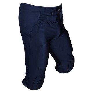 Active Athletics American Football Hose 7 Pad All in One Gamepants - navy Gr. XS