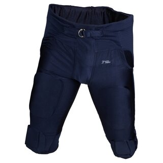 Active Athletics American Football Hose 7 Pad All in One Gamepants - navy Gr. M