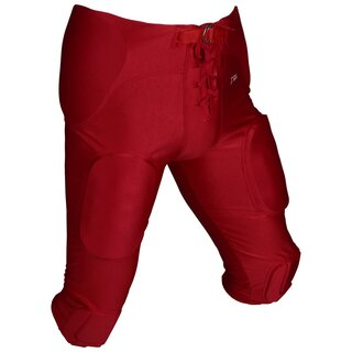 Active Athletics Spielhose All In One Spandex 7 Pads - rot Gr. XS