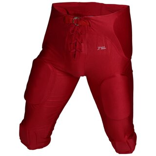 Active Athletics Spielhose All In One Spandex 7 Pads - rot Gr. M