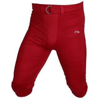 Active Athletics Elite Gamepants No Fly ( mit breitem Gürtel) - rot Gr. M
