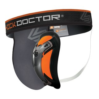Shock Doctor Supporter with Ultra Carbon Flex Cup, Tiefschutz 329