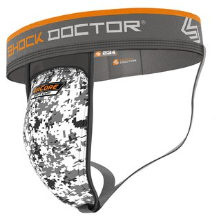 Shock Doctor Supporter with AirCore Soft Cup, Tiefschutz 234 - Gr. L