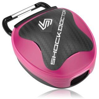 Shock Doctor Mundschutzbox - pink
