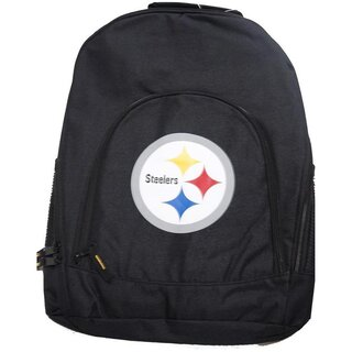 Forever Collectibles NFL Black Backpack, Rucksack - Pittsburgh Steelers